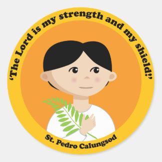 St. Pedro Calungsod Classic Round Sticker