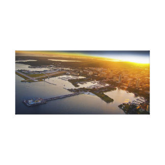 St. Pete Skyline Canvas Print