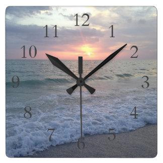 St. Pete Sunset Clock