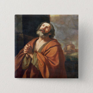 St. Peter 15 Cm Square Badge