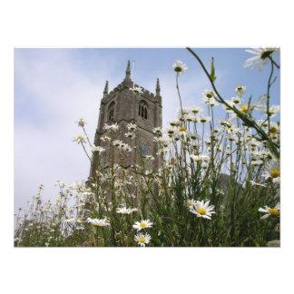 St Peter Ad Vincula church Combe Martin Devon UK Photo Art