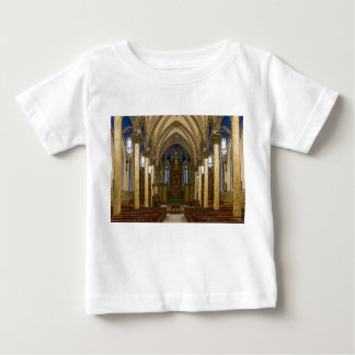 St Peter Catholic Church Painterly Baby T-Shirt