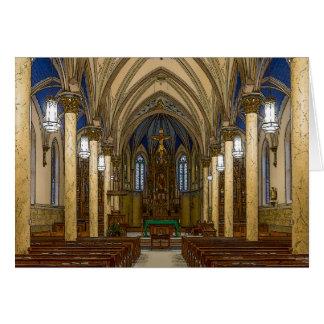 St Peter Catholic Church Painterly Card
