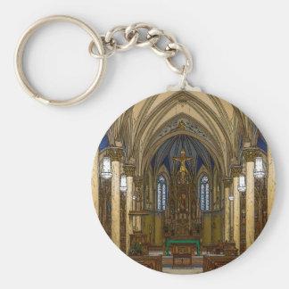 St Peter Catholic Church Painterly Key Ring