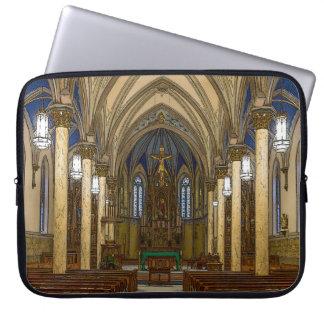 St Peter Catholic Church Painterly Laptop Sleeve