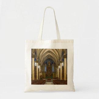 St Peter Catholic Church Painterly Tote Bag