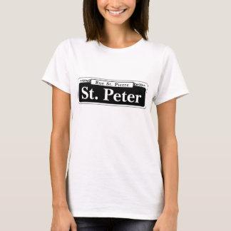 St. Peter St., New Orleans Street Sign T-Shirt