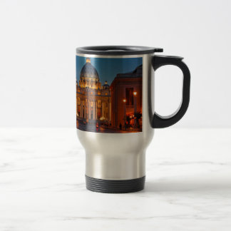 St. Peter's Basilica in Rome - Italy Travel Mug