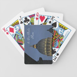 St. Peter's Basilica, Rome, Italy Bicycle Playing Cards