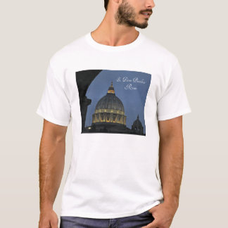 St. Peter's Basilica, Rome, Italy T-Shirt