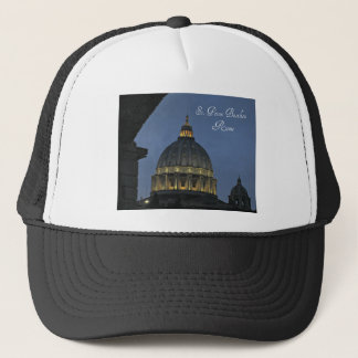 St. Peter's Basilica, Rome, Italy Trucker Hat