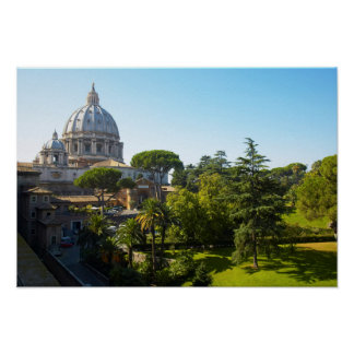 St. Peter's Basilica, Vatican City, Rome, Italy Poster