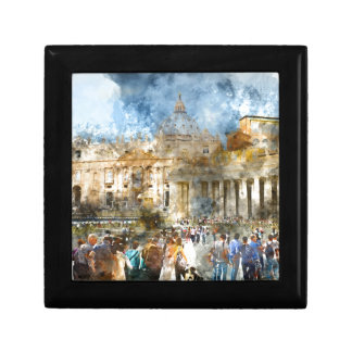 St. Peters Basilica Vatican in Rome Italy Gift Box
