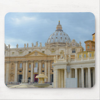 St. Peters Basilica Vatican in Rome Italy Mouse Pad