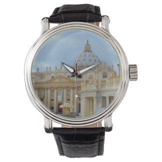 St. Peters Basilica Vatican in Rome Italy Watch
