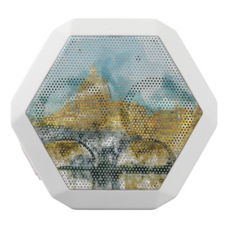 St. Peters Basilica Vatican in Rome Italy White Bluetooth Speaker