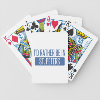 St. Peters Bicycle Playing Cards