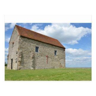 St Peter's Chapel Bradwell Essex Postcard