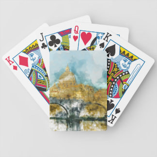 St. Peter's in Vatican City Rome Italy Bicycle Playing Cards