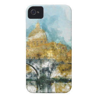 St. Peter's in Vatican City Rome Italy iPhone 4 Cases