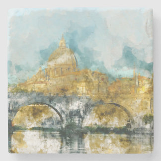 St. Peter's in Vatican City Rome Italy Stone Coaster