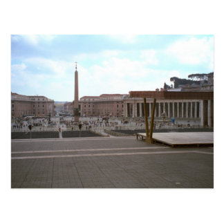 St Peter's Square from the Basilica Postcard