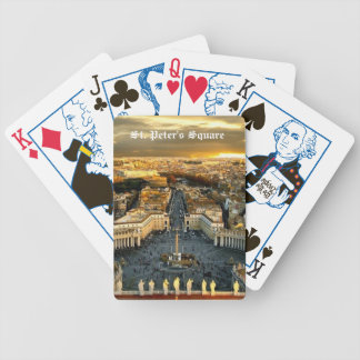 St. Peter's Square, Playing Card