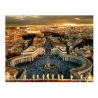 St. Peter's Square Vatican City Postcard