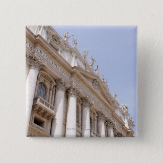 St Peter's Square, Vatican City, Rome, Italy 15 Cm Square Badge