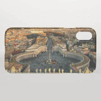 St Peter's Square Vatican iPhone X Case