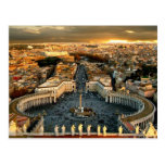 St Peter's Square Vatican Post Cards