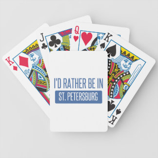 St. Petersburg Bicycle Playing Cards