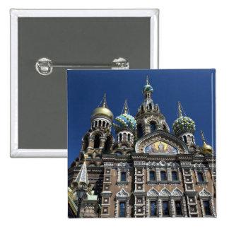 St Petersburg church, Russia Buttons