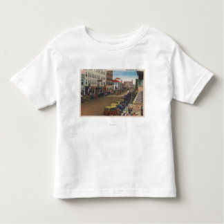 St. Petersburg, FL - View of Central Ave w/ Toddler T-Shirt