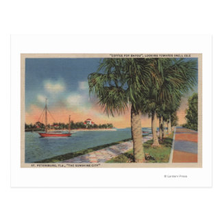 St. Petersburg, FL - View of Coffee Pot Postcard