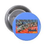St. Petersburg Florida 6 Cm Round Badge