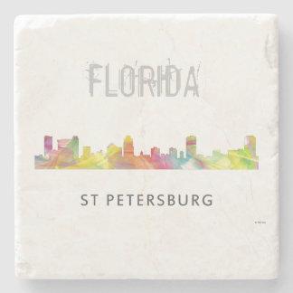 ST PETERSBURG FLORIDA SKYLINE WB1 - STONE COASTER