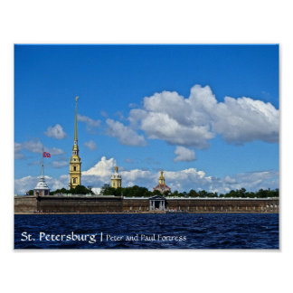 St. Petersburg, Peter and Paul Fortress Poster