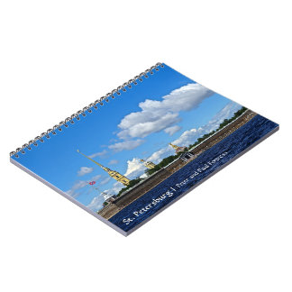 St. Petersburg, Peter and Paul Fortress Spiral Notebooks
