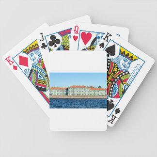 St.Petersburg State University Embankment Bicycle Playing Cards