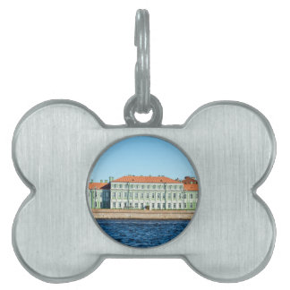 St.Petersburg State University Embankment Pet Name Tag