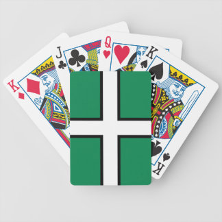 St. Petroc's flag / Flag of Devon Bicycle Playing Cards