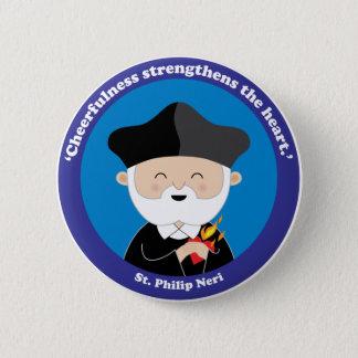 St. Philip Neri 6 Cm Round Badge