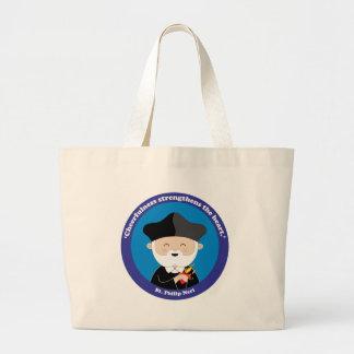 St. Philip Neri Large Tote Bag