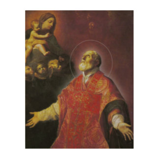 St. Philip Neri Wood Wall Decor