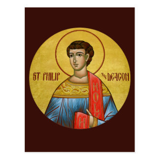 St. Philip the Deacon Prayer Card
