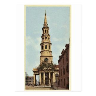 St. Philip's Church, Charleston, S.C. classic Phot Postcard