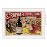 St. Raphael Quinquina Vintage Wine Ad Art Cards