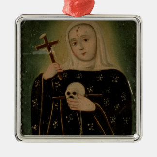 St. Rita de Casia Metal Ornament