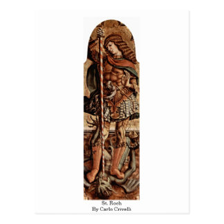 St. Roch By Carlo Crivelli Postcard